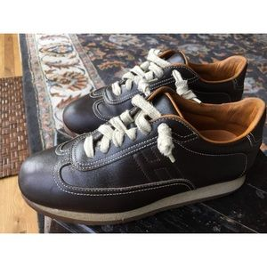 Hermes Leather Sneakers Authentic